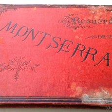 Fotografía antigua: 28 ALBÚMINAS DE MONTSERRAT. RECUERDO DE MONTSERRAT. BARCELONA. J.E. PUIG FOTÓGRAFO, ESCUDILLERS, 89.. Lote 55394489