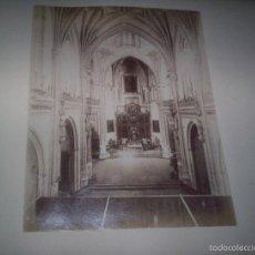 Fotografía antigua: 2 ALBUMINAS TOLEDO CATEDRAL SAN JUAN REYES TOLEDO LACOSTE Y RAFAEL GARZON. Lote 55693813
