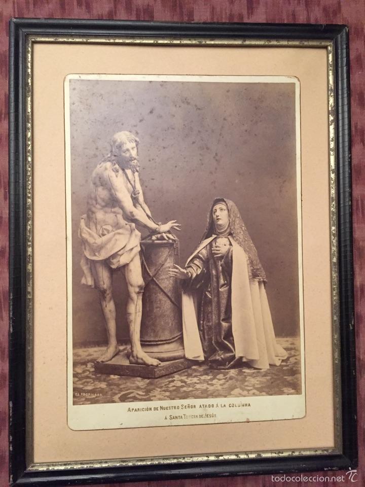 aparición de jesús a santa teresa - foto antigu - Comprar Fotografía ...