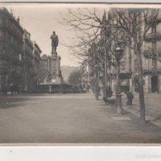 Fotografía antigua: ANTIGUA FOTOGRAFÍA BARCELONA. CRUCE RAMBLA CATALUÑA-VALENCIA. ALBUMINA 12 X 9 CTMS. CIRCA 1900. Lote 56116230