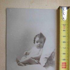 Fotografía antigua: ANTIGUA FOTOGRAFÍA ALBÚMINA . FOTOGRAFO . NAPOLEÓN . BARCELONA.. Lote 56145788
