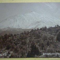 Fotografía antigua: ARTICULO ORIGINAL. PICO DE TEIDE. FOTOGRAFÍA ALEMANA. TENERIFE. 16 X 22 CM 1890-1900. Lote 56156698