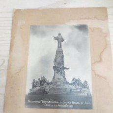 Fotografía antigua: GETAFE MADRID MONUMENTO NACIONAL SAGRADO CORAZON DE JESUS. Lote 56548189