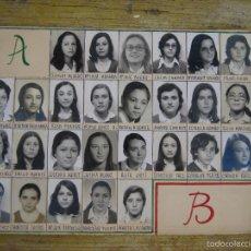 Fotografía antigua: FOTOGRAFIA CON FOTOGRAFIAS TIPO ORLA 1976 1977 PARQUE ESCUELA COLEGIO SANTA ANA VALENCIA AV PUERTO. Lote 56574914