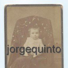 Fotografía antigua: RETRATO. NIÑO. ANTONIO NICOLÁS RAYA. MURCIA, 1906. CENTRO FOTOGRÁFICO VILLAR.. Lote 56690292