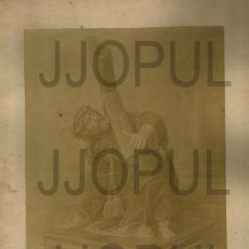 Fotografía antigua: VERDADERO RETRATO DE JESUS DE GALIANA. AVILES. H. 1880. ASTURIAS. Lote 56696686