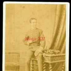 Fotografía antigua: ALFONSO XII - 1880'S - FOTOGRAFIA LE JEUNE - LEVITSKY. Lote 53534653
