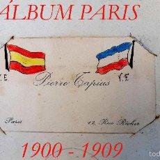 Fotografía antigua: ÁLBUM - PARÍS - PIERRE TAPIAS - 150 FOTOGRAFIAS - 1900 - 1909. Lote 57028314