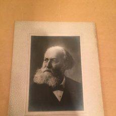 Fotografía antigua: FOTOGRAFÍA ANTIGUA - CHARLES GOUNOD - PUBLICIDAD - PIANO - BALDWIN - KLINGER - CASA CAMPOS. Lote 57255437