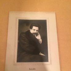 Fotografía antigua: FOTOGRAFÍA ANTIGUA - ENRIQUE GRANADOS - PUBLICIDAD - PIANO - BALDWIN - KLINGER - CASA CAMPOS. Lote 57255523