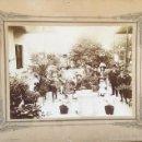 Fotografía antigua: FOTOGRAFIA 1908 PATIO FAMILIA EN BUENOS AIRES. Lote 57803901