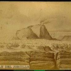 Fotografía antigua: VOLCÁN DE JORULLO - MEXICO - HUMBOLDT - 1880'S. Lote 58295337