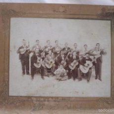 Fotografía antigua: FOTO ANTIGUA DEL GRUPO LOS PONCES, DE ALICANTE. HACIA 1900.. Lote 58328355