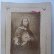 Fotografía antigua: DULCE CORAZON DE JESUS SED MI AMOR - PROMESAS DEL SAGRADO CORAZON, PALMA DE MALLORCA. Lote 58367522