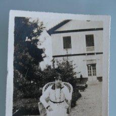 Fotografía antigua: ALBUMINA FOTO FOTOGRAFIA MUY ANTIGUA COLOR SEPIA – RARA DIFICIL CONSEGUIR MEDIDA 4,5 X 6,5 CM. Lote 58487664