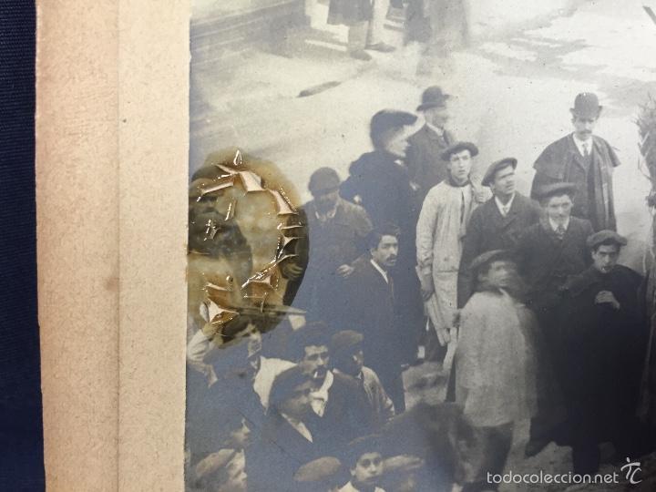 Fotografía antigua: foto albumina falla carroza asturias horreo horchateria a. martinez calle valencia 16x22,5cm - Foto 8 - 58581575