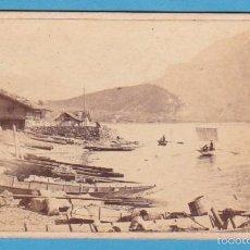 Fotografía antigua: Nº 1815 OBERLAND BERNOIS. LAC DE BRIENZ. ADOLFE BRAUN, PHOTOGRAPHE A DORNACH. CIRCA 1840-60. Lote 58665470