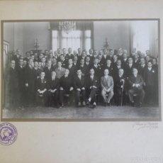 Fotografía antigua: ASOCIACIÓN GENERAL ESPAÑOLA DE INGENIEROS LIBRES, 1930 ALBERO Y SEGOVIA, 30 X25 APROX. Lote 59522471