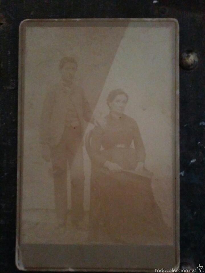 Fotografía antigua: LOTE de cuatro fotografías finales del Siglo XIX - Foto 2 - 60147661