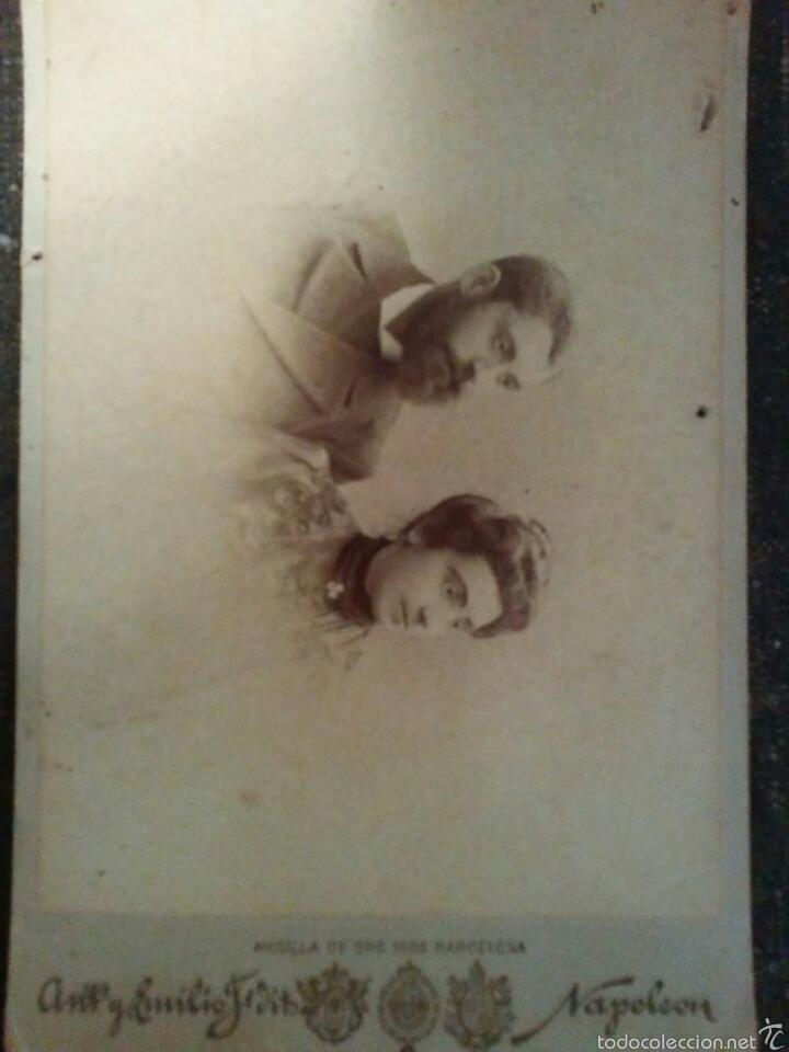 Fotografía antigua: LOTE de cuatro fotografías finales del Siglo XIX - Foto 7 - 60147661