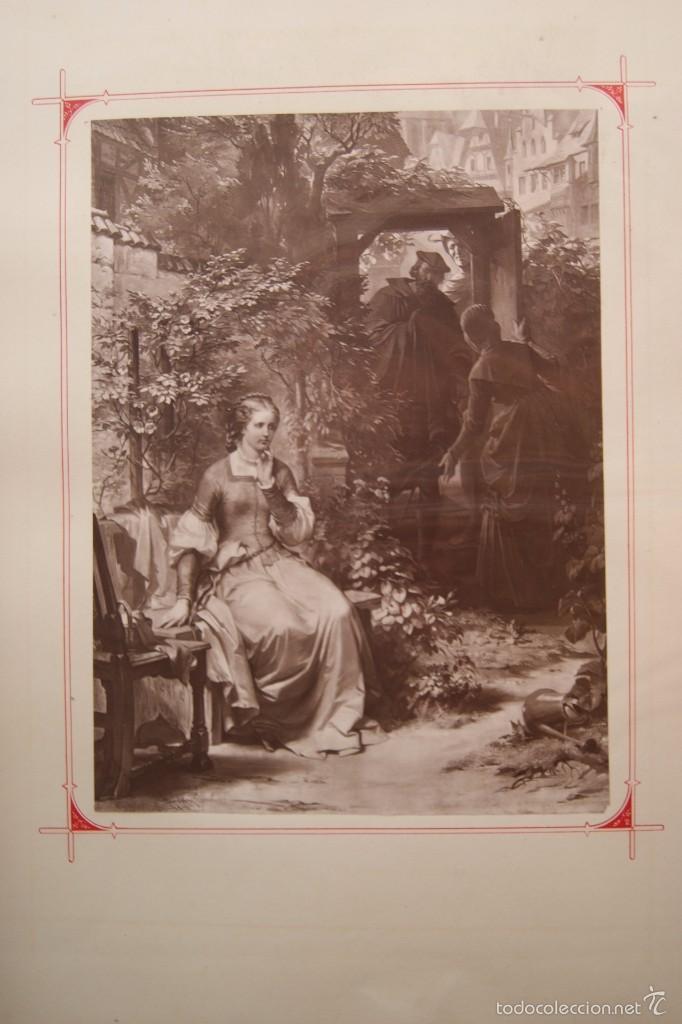 LOTE 12 FOTOGRAFIA 1871 A KRELING SOBRE FAUSTO (Fotografía Antigua - Albúmina)