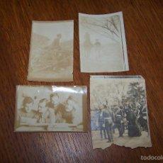 Fotografía antigua: LOTE DE 4 FOTOGRAFÍAS DE MILITARES. ALREDEDOR DE 1900.. Lote 61301343