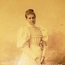 Fotografía antigua: FOTOGRAFIA ANTIGUA: INFANTA DE BORBÓN- S. XIX- ORIGINAL. Lote 61677288
