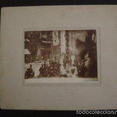 Fotografía antigua: MADRID -FOTOGRAFIA ALBUMINA BRAULIO LOPEZ -MEDIDAS Y REV. EN FOTOS ADICIONALES-(V-6600). Lote 61853476