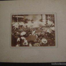 Fotografía antigua: MADRID -FOTOGRAFIA ALBUMINA BRAULIO LOPEZ -MEDIDAS Y REV. EN FOTOS ADICIONALES-(V-6601). Lote 61853536
