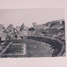 Fotografía antigua: SEVILLA. LA ITÁLICA. 1892. AUTORES: HAUSER Y MEDEL. DIMENSIONES: 30 CM. POR 23'5 CM.. Lote 62253148