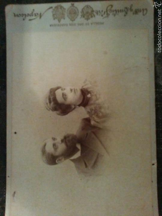 Fotografía antigua: LOTE de cuatro fotografías finales del Siglo XIX - Foto 5 - 60147661