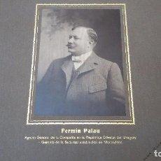 Fotografía antigua: LA POSITIVA. CÍA DE SEGUROS ORIGINARIA DE MURCIA. ALBUM FOTOGRÁFICO SUCURSAL EN URUGUAY. AÑO 1904. Lote 62599512