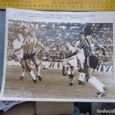 Fotografía antigua: ANTIGUA FOTOGRAFIA CADIZ 1985 PARTIDO TROFERO RAMON DE CARRANZA SEVILLA FUTBOL CLUB - GREMIO . Lote 62622768