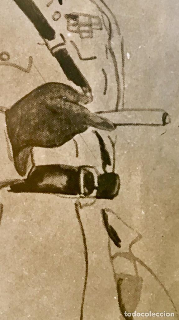 Fotografía antigua: albumina soldado coronel senegales en uniforme SXIX 9x14 - Foto 4 - 62953016