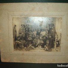 Fotografía antigua: FOTOGRAFÍA GRUPO MUSICOS.. Lote 62991360