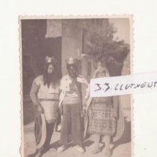 Fotografía antigua - foto reyes magos años 40/50 morillo o pueblo similar mirar foto - 64087055