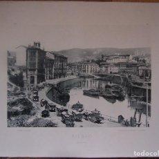 Fotografía antigua: BILBAO. ACHURRI 1892. AUTORES: HAUSER Y MEDEL. DIMENSIONES: 30 CM. POR 23'5 CM.. Lote 64480815