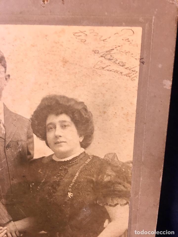 Fotografía antigua: foto emigrantes nueva york N.Y. otto sarony co madre posando con su hijo fin s xIX 18,3x12,3cms - Foto 3 - 65761794