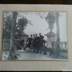 Fotografía antigua: FOTOGRAFÍA ALBÚMINA SOBRE CARTÓN FECHADO MANUSCRITO: E. AÑO 1926. MUY GRANDE. Lote 66876750