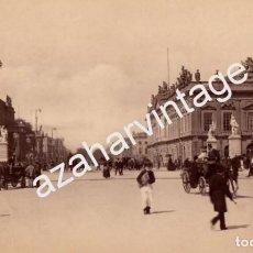 Fotografía antigua: ESPECTACULAR ALBUMINA COSTUMBRISTA DE BERLIN, SIGLO XIX, 260X160MM. Lote 67224773