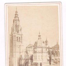 Fotografía antigua: TOLEDO, LA CATEDRAL, FOTO: LAURENT, MADRID. 11X16,5 CM. Lote 67377129