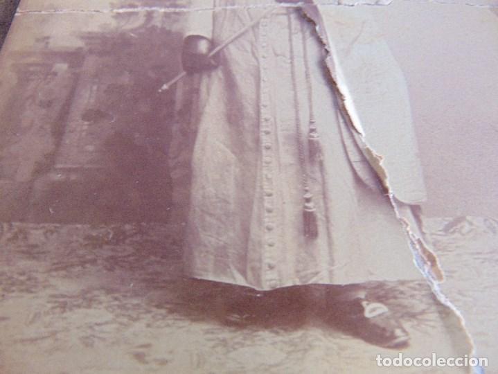 Fotografía antigua: FOTO FOTOGRAFIA M CASTILLO ALBUMINA DE LA SEMANA SANTA DE SEVILLA FINALES SIGLO XIX NAZARENO ROTO - Foto 5 - 68085705