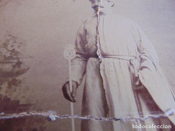Fotografía antigua: FOTO FOTOGRAFIA M CASTILLO ALBUMINA DE LA SEMANA SANTA DE SEVILLA FINALES SIGLO XIX NAZARENO ROTO - Foto 3 - 68085709