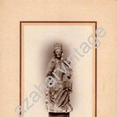 Fotografía antigua: SEMANA SANTA SEVILLA, ALBUMINA DE VIRGEN FERNANDINA A IDENTIFICAR,FOT.ARENAS, LEER MEDIDAS. Lote 68251237