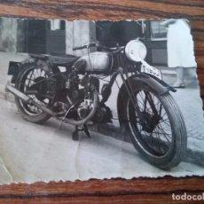 Fotografía antigua: TARRAGONA - FOTOGRAFIA MUTO MATRICULA DE TARRAGONA. Lote 68760737