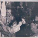 Fotografía antigua: FOTO TAMAÑO POSTAL ALVERO Y SEGOVIA- PONTIFICACION. RELIGUIOSA. Lote 69083241