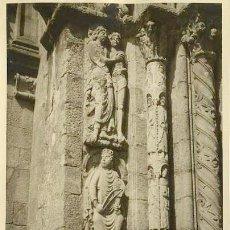 Fotografía antigua: FOTOGRAFÍA ANTIGUA CATEDRAL DE SANTIAGO COMPOSTELA GALICIA DECADA 1930. Lote 69655889