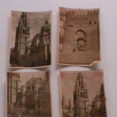Fotografía antigua: LOTE DE 4 FOTOS ANTIGUAS DE TOLEDO.. 5,5 X 8,5 CM. Lote 194239202