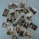 Fotografía antigua: LOTE 25 FOTOS FOTOGRAFIAS MUY ANTIGUAS COLOR SEPIA – RARAS DIFICILES CONSEGUIR – VEASE UNA A UNA . Lote 71820735