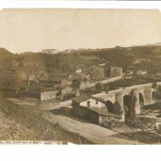 Fotografía antigua: ALBÚMINA, VIZCAYA, 182, PUENTE NUEVO DE BOLUETA, J. LAURENT Y CIA., 26X35, SIGLO XIX. Lote 72702507